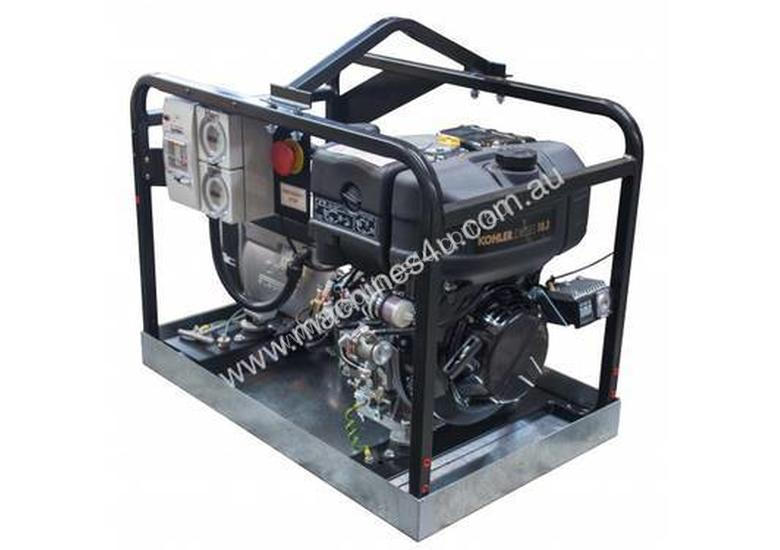 Advanced Power 6kVA Industrial Spec Generator with Containment Tray