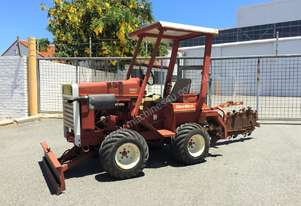 DITCH WITCH 2200 1.3T LOW HOUR RIDE ON TRENCHER S/N 849