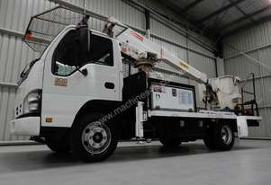 Isuzu NPR300 Elevated Work Platform Truck
