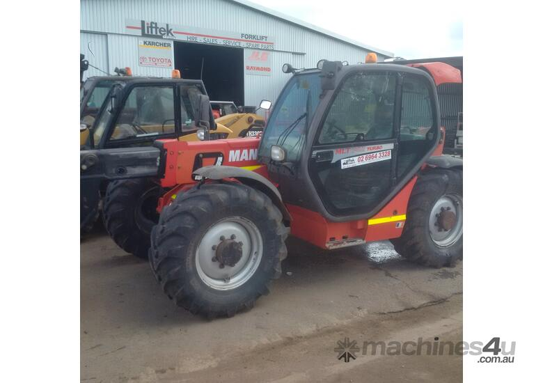 2009 Manitou MLT 845 120 LUS  8M Reach Telehandler Serviced with Low hours