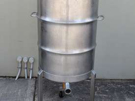 Stainless Steel Mixing Drum - picture1' - Click to enlarge