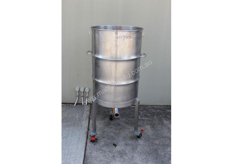 Stainless Steel Mixing Drum