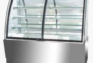 Mitchel Refrigeration1800mm Curved Glass Cold Display