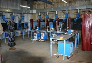 Welding Bay Fume extraction System