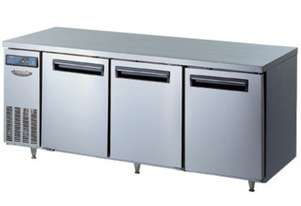 Lassele LTR-1871PC Three Solid Door Under Bench Fridge - 1800mm