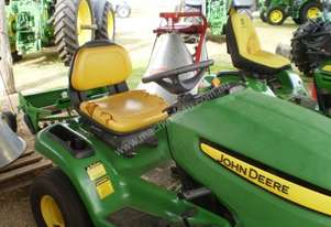 John Deere X300 Standard Ride On Lawn Equipment