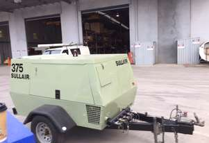 2006 Sullair 375 DPQ, Diesel Air Compressor, 3 MONTH WARRANTY