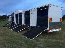 15 HORSE SEMI TRAILER HORSE FLOAT - picture16' - Click to enlarge