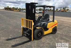2018 TEU FD30T Pneumatic Tyre Forklift - Unused