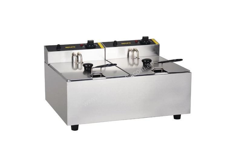 Apuro DL891-A - Double Fryer 2 x 5Ltr
