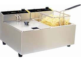 Apuro DL891-A - Double Fryer 2 x 5Ltr - picture2' - Click to enlarge
