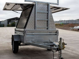 7ft x 5ft Single Axle Tradesman Trailer - picture0' - Click to enlarge