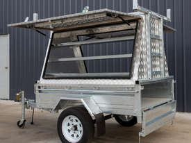 7ft x 5ft Single Axle Tradesman Trailer - picture1' - Click to enlarge