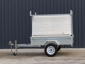 7ft x 5ft Single Axle Tradesman Trailer - picture2' - Click to enlarge