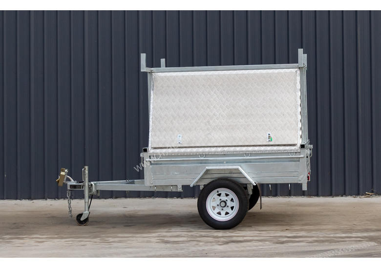 7ft x 5ft Single Axle Tradesman Trailer