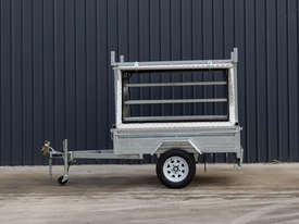 7ft x 5ft Single Axle Tradesman Trailer - picture3' - Click to enlarge