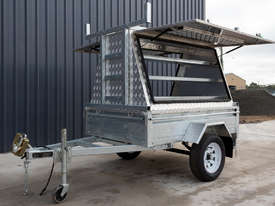 7ft x 5ft Single Axle Tradesman Trailer - picture4' - Click to enlarge