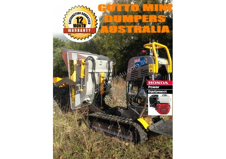 MINI DUMPERS  SKIDD STEER SELF LOADER HONDA ENGINE