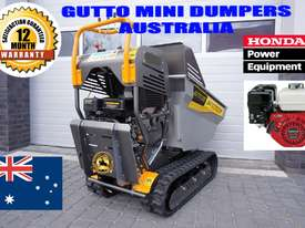 MINI DUMPERS  SKIDD STEER SELF LOADER HONDA ENGINE  - picture2' - Click to enlarge