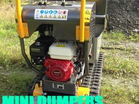 MINI DUMPERS  SKIDD STEER SELF LOADER HONDA ENGINE  - picture3' - Click to enlarge