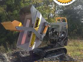 MINI DUMPERS  SKIDD STEER SELF LOADER HONDA ENGINE  - picture4' - Click to enlarge
