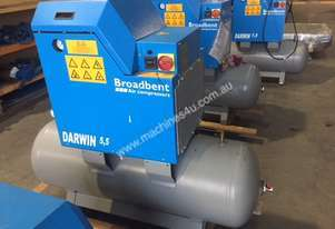 Darwin Rotary Screw Compressors **NEW old stock**