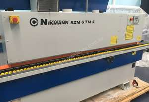 Nikmann KZM6-TM4 Edgebander and Extractor package 100% Made in Europe