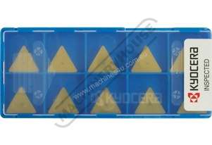 TPMN 160308 KYOCERA Carbide Inserts - Milling Grade PR1225 General Purpose 16.5mm 10 Inserts Per Pac