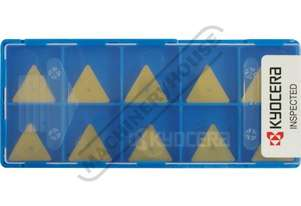 TPMN 160308 KYOCERA Carbide Inserts - Milling Grade PR1225, General Purpose, 16.5mm 10 Inserts Per P