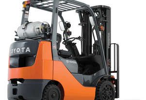 Toyota 2.0 - 3.25 Tonne Petrol/LPG 8-Series Cushion Tyre Forklift