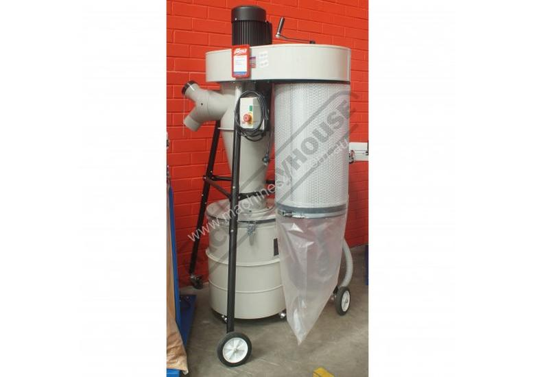 Cyclone dust separator 100mm inlet