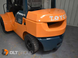 Used Toyota 7FD25 Dual Drive Forklift 2Z Diesel Engine Container Mast - picture10' - Click to enlarge