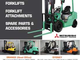Used Toyota 7FD25 Dual Drive Forklift 2Z Diesel Engine Container Mast - picture19' - Click to enlarge