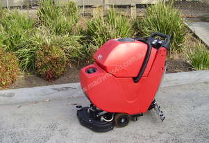 RCM Go Compact Battery Scrubber/Drier Walk Behind Floor Vacuum Scrubber