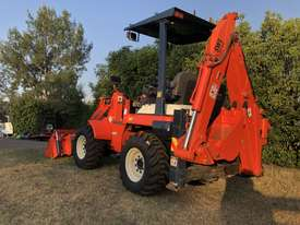 SOLD- another Unit Available- KUBOTA R420 4WD BackHoe Wheel Loader 3.3T 4in1 Bucket, Quick Couple - picture1' - Click to enlarge