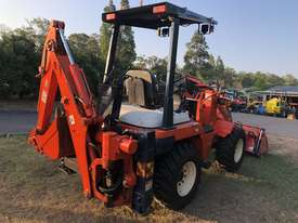 SOLD- another Unit Available- KUBOTA R420 4WD BackHoe Wheel Loader 3.3T 4in1 Bucket, Quick Couple - picture2' - Click to enlarge