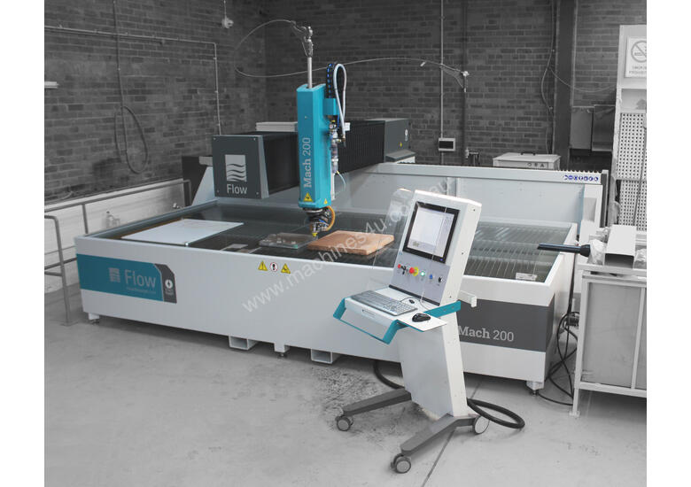 Mach 200 Waterjet Cutting Machine for Stone, Engineering & Fabrication