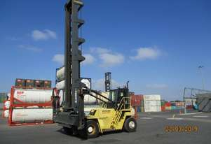 Hyster 7 High Empty Container Handler with Twin Pick