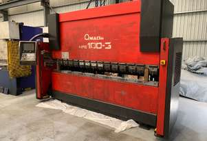 Amada HFE 100-3 Press Brake Operateur Manual