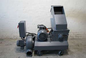 Industrial Heavy Duty Plastic Wood Granulator with Blower 11kW