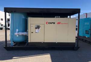 Ingersoll Rand 160kW 1000V 918cfm 8.5Bar Skid mounted Rotary Screw Compressor with Receiver Tank