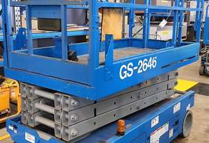 Genie GS2646 battery electric scissor lift