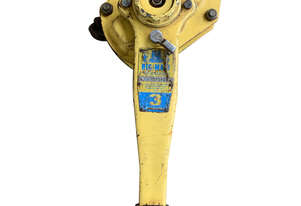 Nobles Rigmate Lever Hoist 3 ton x 6.0 meter drop Drop Chain Winch WWL 3000kg Lifting Block