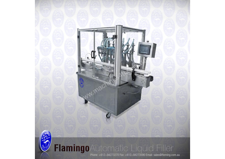 *NEW*Fully-Auto filling/capper/labeller system