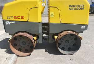 USED 2012 WACKER NEUSON RTSC2 REMOTE CONTROLLED TRENCH ROLLER