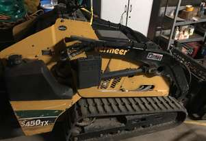Vermeer mini skid steer with many attachments