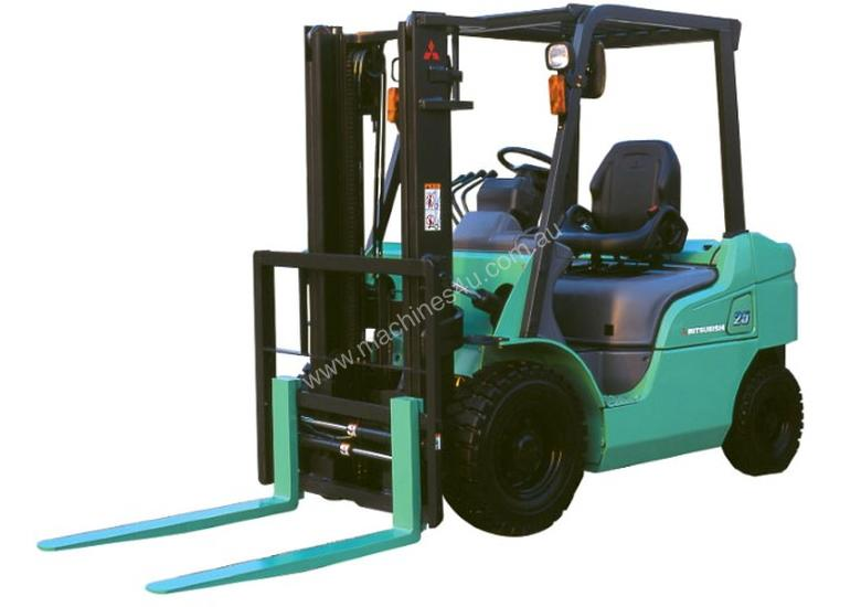 New Mitsubishi Forklifts LPG, Diesel, Electric