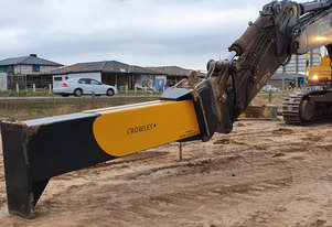 Premium Excavator Trench Rake (Donga) -  Australian Made - Engineered Solutions!