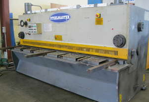 Steelmaster Variable Rake Hydraulic Guillotine 3200 x 6mm