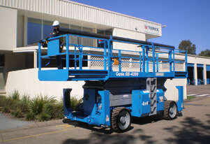 Genie GS4390 Rough Terrain Scissor Lifts. 10 year Re-Certs completed. 26' 32' & 43' avail